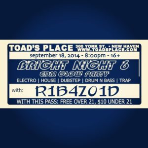 Bright Night 6 @Toad's Place