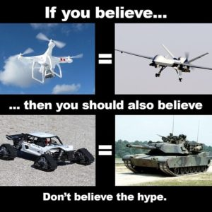 spreading drone truth
