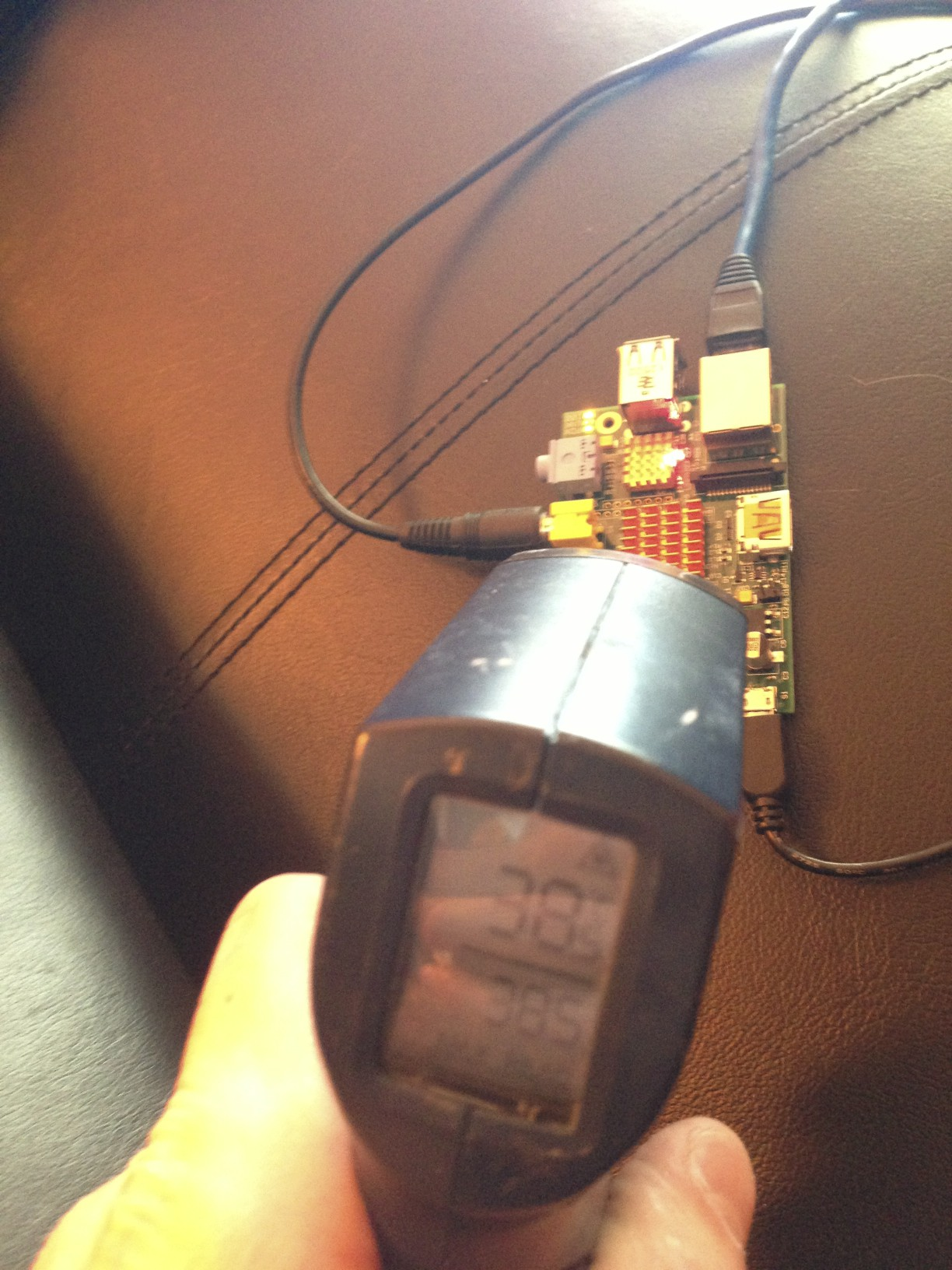 Idle External Temp With Heat Sink
