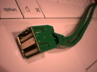 USB Port Painted